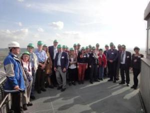 Site visit to Garzweiler opencast mine and Niederaussem power plant