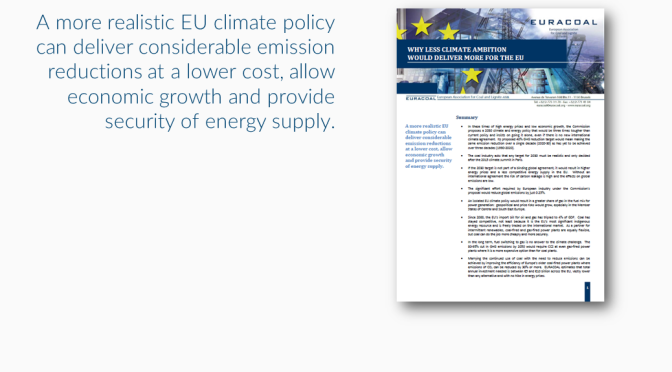 EU 2030 targets: why COP21 means less can be more…