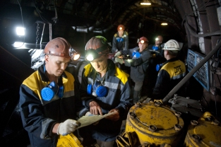 Predko GLEB: Repairs at coal mine Ternovskaya (Ukraine)