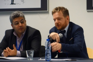 EESC Member Dumitru Fornea & Maciej Kolaczek, Polish PermRep