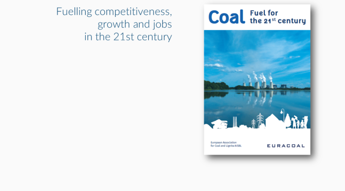 Coal: fuel for the 21st century
