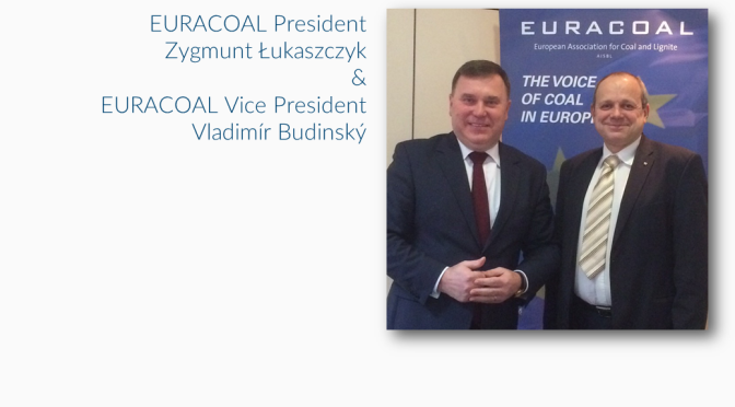 EURACOAL elects new President and Vice Presidents