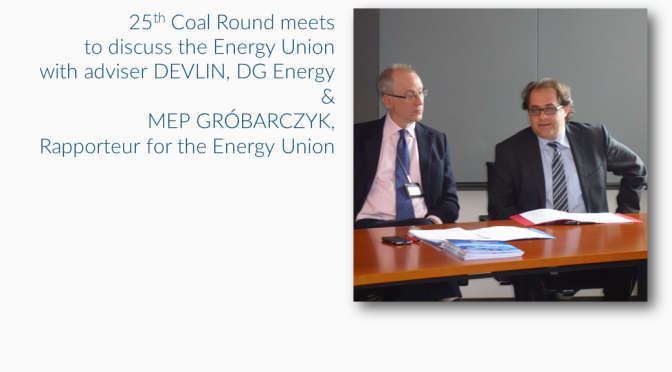 Coal Round meets to discuss Energy Union