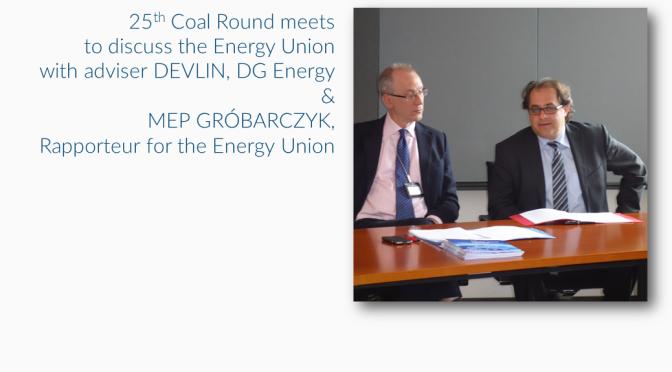Coal Round meets to discuss Energy Union