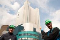 Niederaußem power plant boiler house