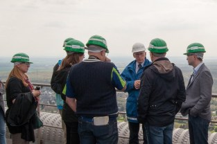On top of Niederaußem power plant