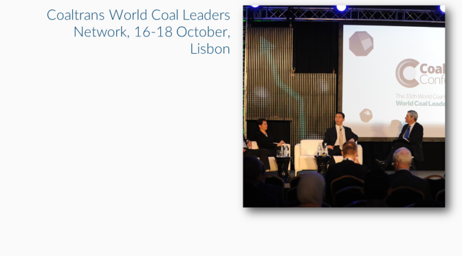 The World Coal Leaders Network gathers in Portugal