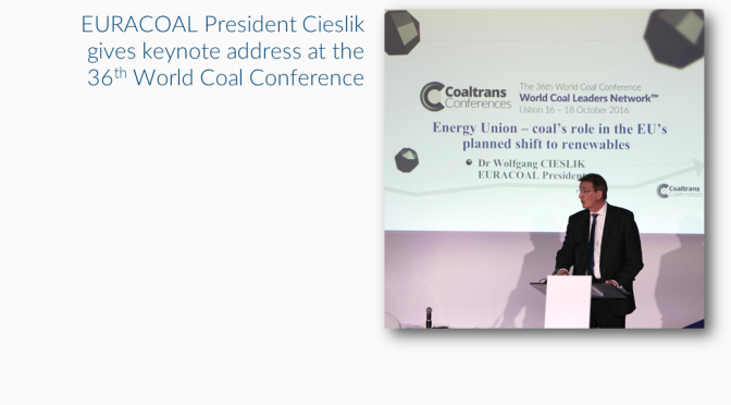 Coal industry leaders meet in Lisbon