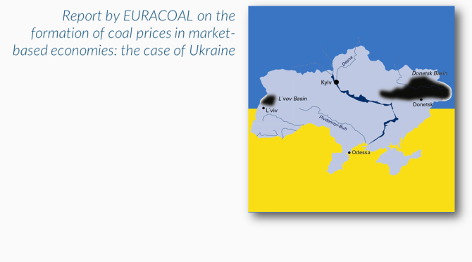 EURACOAL gives its opinion on Ukrainian coal-pricing methodology