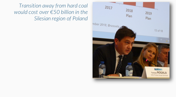 EURACOAL President Rogala at Coal Platform