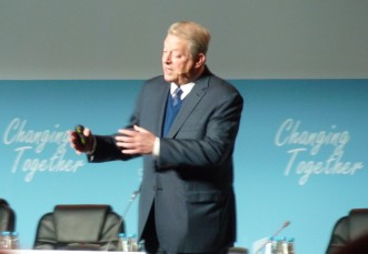 Former US Vice President, Al Gore, calls for climate action (again)