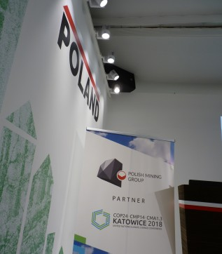 The Polish Mining Group PGG sponsored COP24