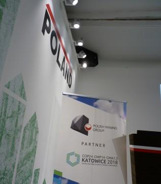 The Polish Mining Group PGG sponsored COP24