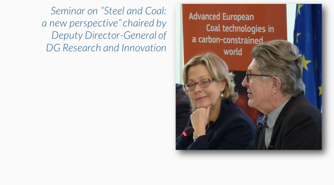 EURACOAL President launches CoalTech2051 brochure on the future of coal research