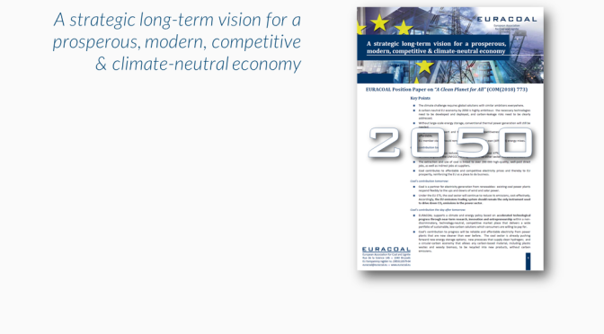 "EURACOAL Position Paper on ""A Clean Planet for All"""