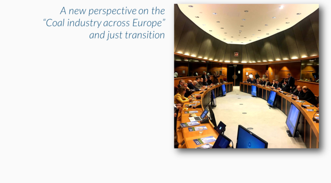 MEPs preview latest EURACOAL publication